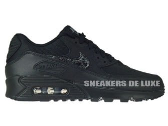 724824-001 Nike Air Max 90 Black / Black - Cool Grey