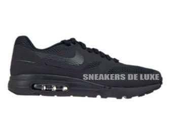 819476-001 Nike Air Max 1 Ultra Black/Black-Black