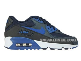 833418-402 Nike Air Max 90 Dark Obsidian/Court Blue-Black-White
