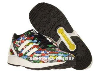 B24904 adidas ZX Flux ftwr white / ftwr white / core black