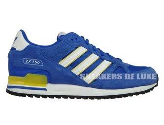 BY9272 adidas ZX 750 Blue/Ftwwht/Eqtyel