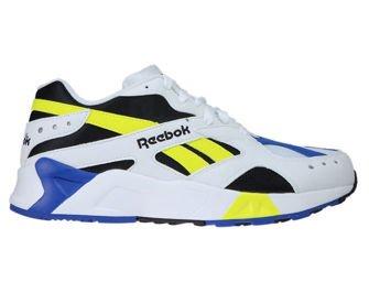 CN7840 Reebok Aztrek White / Black / Cobalt / Yellow