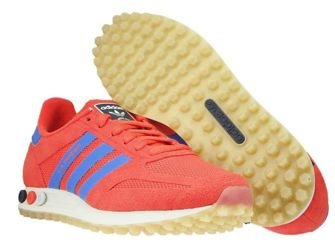 CQ2275 adidas LA Trainer Hi-Res Red/Hi-Res Blue/Talc