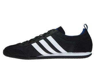 DB0462 adidas NEO VS Jog Core Black/Ftwr White/Collegiate Royal