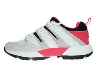 DB2717 adidas EQT Cushion 2.0 Shock Red/Off White/Lear Brown