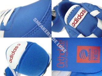 F38505 adidas V Racer Nylon Blue / White / Power Red