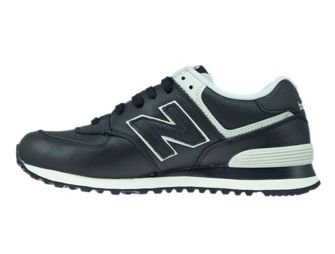 ML574LUC New Balance 574 Black Leather