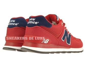 ML574POR New Balance Pique Polo Pack Red