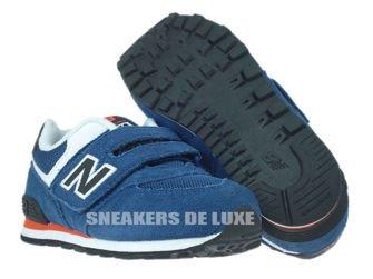 New Balance KG574MTI Blue / Black Infants