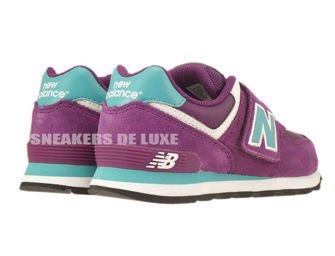 New Balance KG574PBY Purple / Blue Youth