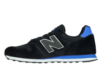 New Balance ML373MST Black with Vivid Cobalt
