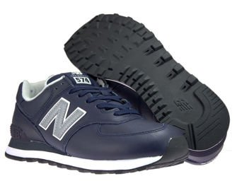 New Balance ML574LPN Leather Pigment with White Munsell