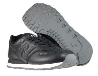 New Balance ML574SNR Black with White