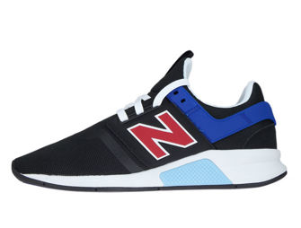 New Balance MS247FQ Deconstructed Black with Team Red