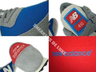 New Balance U410HGB Blue / Grey