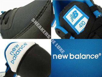 New Balance U410MNWB Black / White / Blue