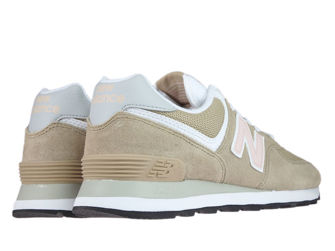 New Balance WL574BTB Hemp with Oyster Pink