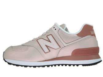New Balance WL574KSE Sheen Conch Shell with Dark Oxide