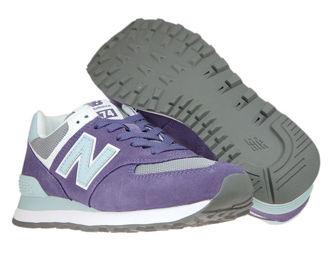 New Balance WL574WNC Violet Fluorite with Smokey Quartz
