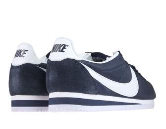 Nike 807472-410 Classic Cortez Nylon Obsidian / White