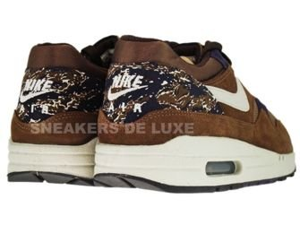 Nike Air Max 1 Medium Brown/Granite-Canvas Purple-Black 308866-202