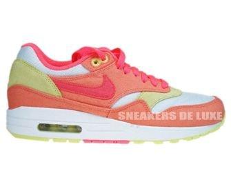 Nike Air Max 1 Melon Crush/Hot Punch-White-Yellow 319986-801