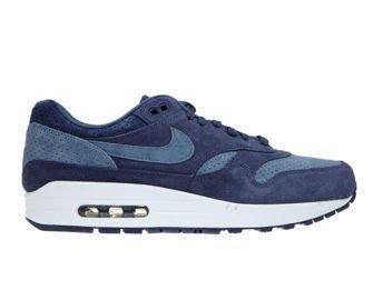Nike Air Max 1 Premium 875844-501 Neutral Indigo/Diffused Blue