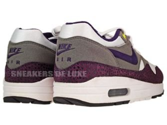 Nike Air Max 1 White/Grand Purple-Metallic Pewter 308866-151