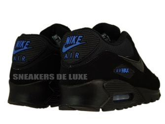 Nike Air Max 90 Black/Black-Blue Spark 309299-906