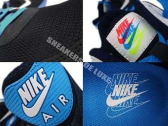 Nike Air Max 90 Midnight Blue/Black-White-Blue Glow 325018-407