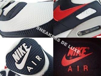 Nike Air Max 90 Obsidian/Sport Red-White-Neutral Grey 309299-400