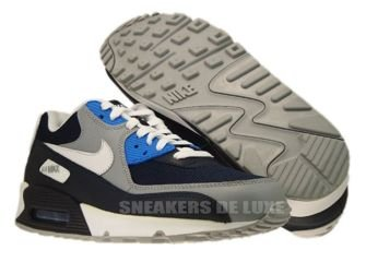 Nike Air Max 90 Obsidian/Wolf Grey-Photo Blue 325018-419