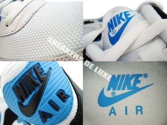 Nike Air Max 90 White/Black-Zen Grey-Laser Blue 325018-108