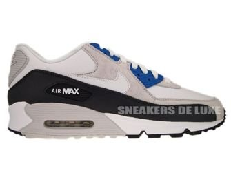 Nike Air Max 90 White/White-Obsidian-Neutral Grey