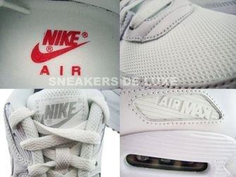 Nike Air Max 90 White/White-Varsity Red 325018-111