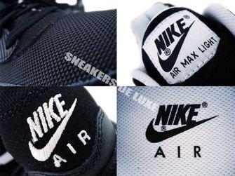 Nike Air Max Light Black/White 385474-011