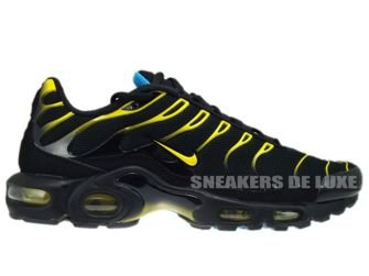 Nike Air Max Plus TN 1 Black/Tour Yellow-Dynamic Blue