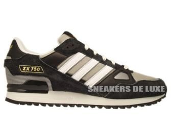 Q23654 Adidas ZX 750 Originals Black/Collegiate Silver/Running White