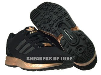 S78977 adidas ZX Flux core black / core black / copper metallic