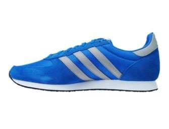 S79204 adidas ZX Racer Bluebird / Solid grey / Footwear White