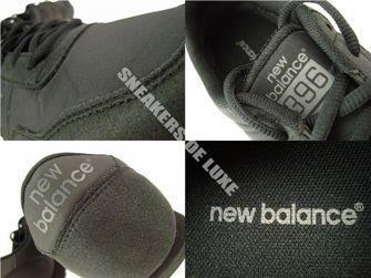 U396MBW New Balance Black / Black