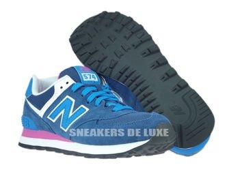 WL574MOY New Balance Blue/Pink