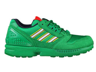 """adidas ZX 8000 LEGO FY7082 """"Color Pack"""" Green"""